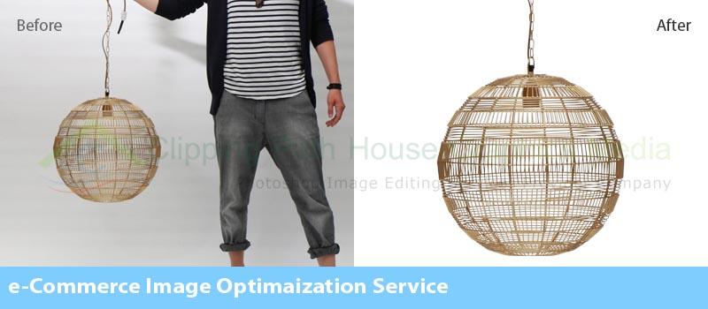 eCommerce image optimization service