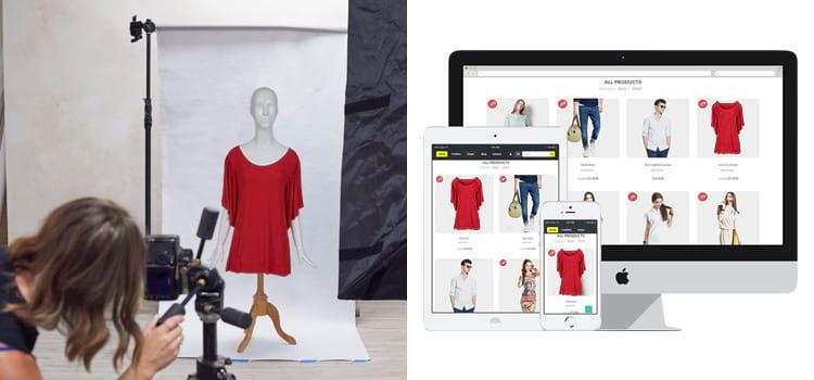 Ecommerce product photo editing